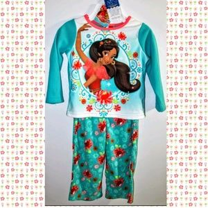 NWT 2T GIRLS ELENA OF AVALOR PAJAMAS DISNEY 2-PC